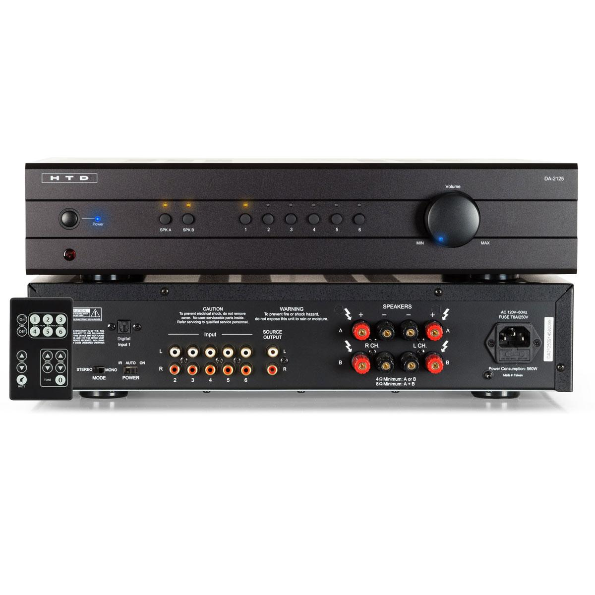 DA 2125 Multi Source Stereo Digital Amplifier