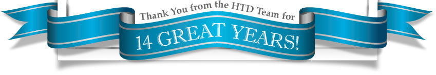 HTD 14th Anniversary