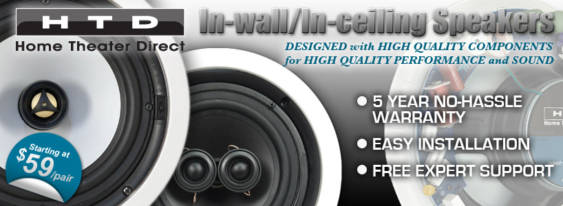 HTD In-wall and  In-Ceiling Speakers