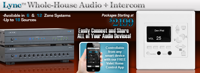 Lync Whole-House Audio System