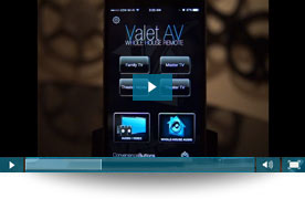 Valet Home Control Video