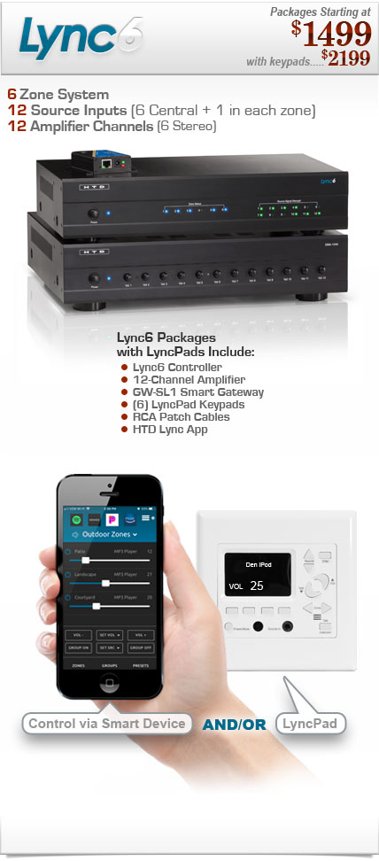 lync advanced whole house audio system rh htd com